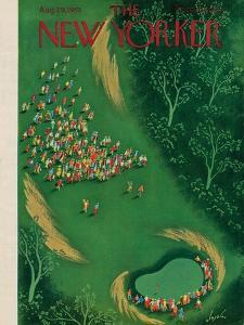 The New Yorker Cover - August 29, 1953 by Constantin Alajalov