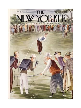 The New Yorker Cover - August 5, 1939