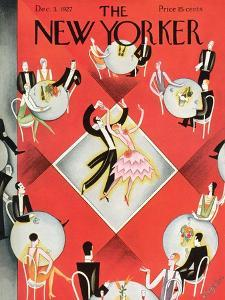The New Yorker Cover - December 3, 1927 by Constantin Alajalov