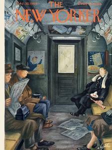 The New Yorker Cover - December 30, 1944 by Constantin Alajalov