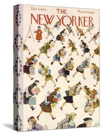 The New Yorker Cover - December 8, 1945