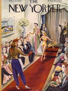 The New Yorker Cover - December 9, 1939 by Constantin Alajalov