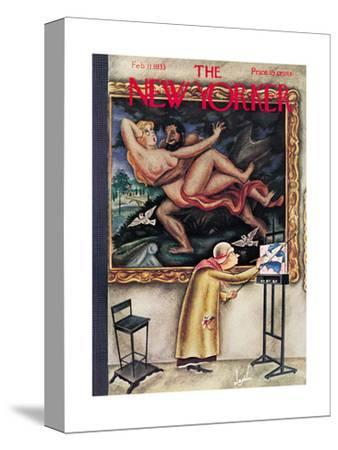 The New Yorker Cover - February 11, 1933