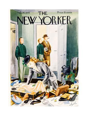 The New Yorker Cover - February 24, 1945