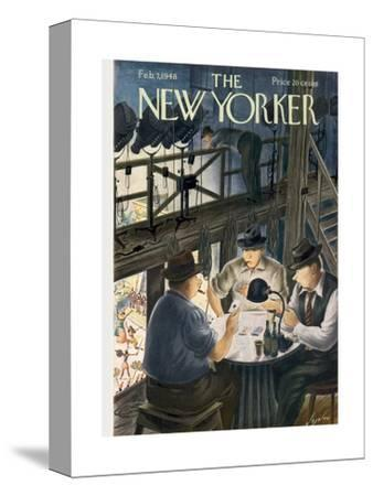 The New Yorker Cover - February 7, 1948
