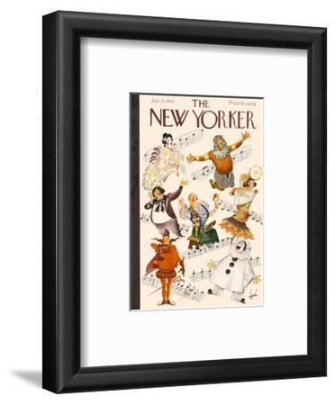 The New Yorker Cover - January 13, 1934