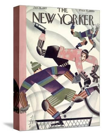 The New Yorker Cover - January 15, 1927