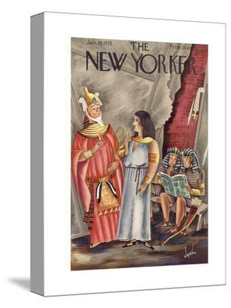 The New Yorker Cover - January 19, 1935