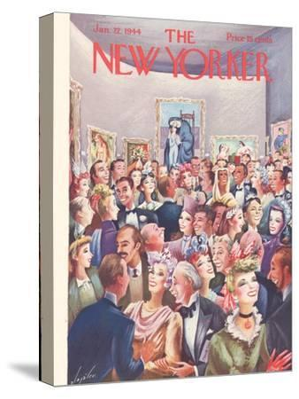 The New Yorker Cover - January 22, 1944