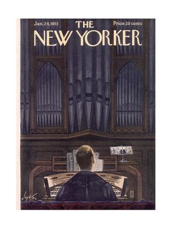 The New Yorker Cover - January 24, 1953