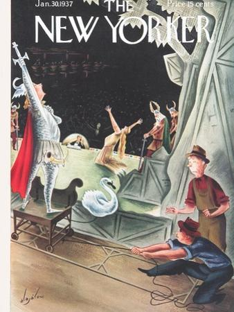 The New Yorker Cover - January 30, 1937