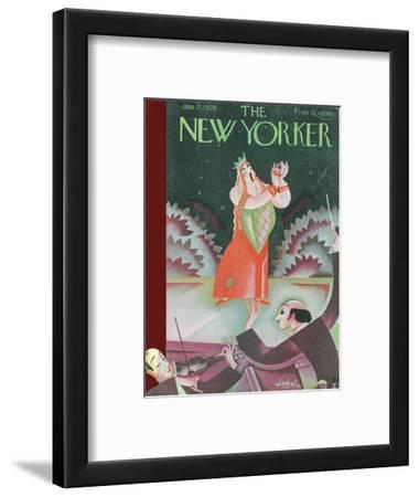 The New Yorker Cover - January 7, 1928