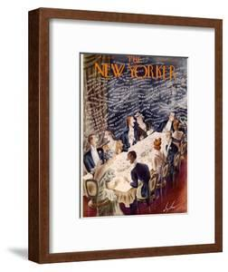The New Yorker Cover - January 7, 1939 by Constantin Alajalov