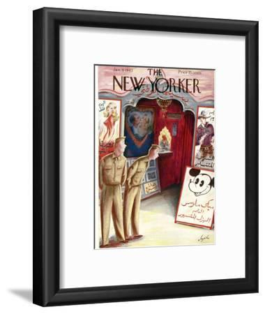 The New Yorker Cover - January 9, 1943
