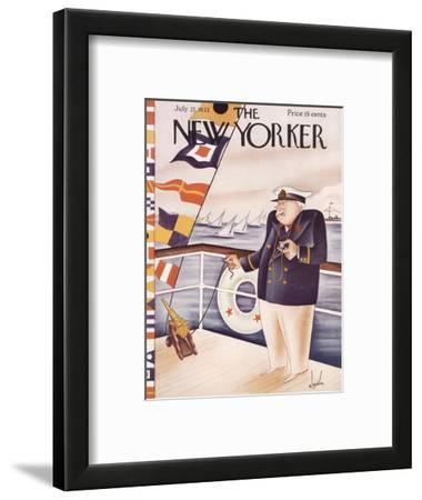 The New Yorker Cover - July 22, 1933