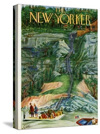 The New Yorker Cover - July 24, 1948