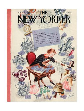 The New Yorker Cover - June 11, 1938