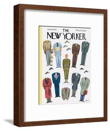 The New Yorker Cover - June 16, 1945