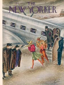 The New Yorker Cover - March 1, 1941 by Constantin Alajalov