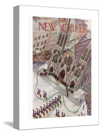 The New Yorker Cover - March 16, 1935