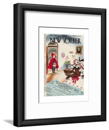 The New Yorker Cover - March 5, 1938