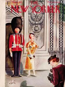 The New Yorker Cover - May 15, 1937 by Constantin Alajalov