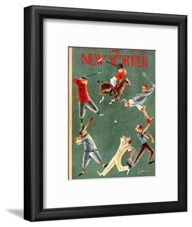 The New Yorker Cover - May 25, 1935