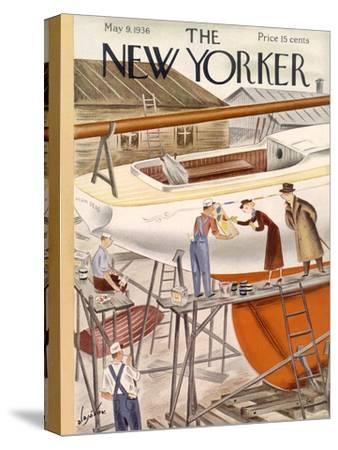 The New Yorker Cover - May 9, 1936