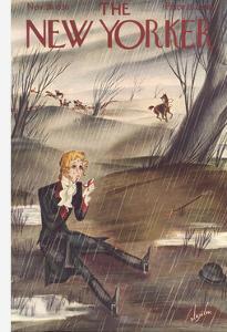The New Yorker Cover - November 28, 1936 by Constantin Alajalov
