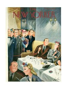 The New Yorker Cover - October 21, 1944 by Constantin Alajalov