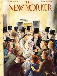 The New Yorker Cover - October 24, 1936 by Constantin Alajalov