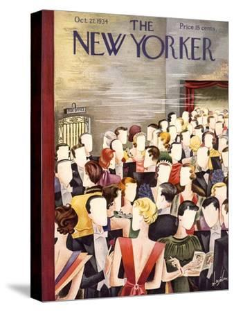 The New Yorker Cover - October 27, 1934