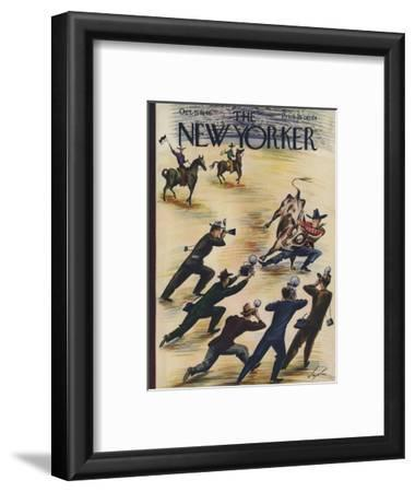 The New Yorker Cover - October 5, 1946