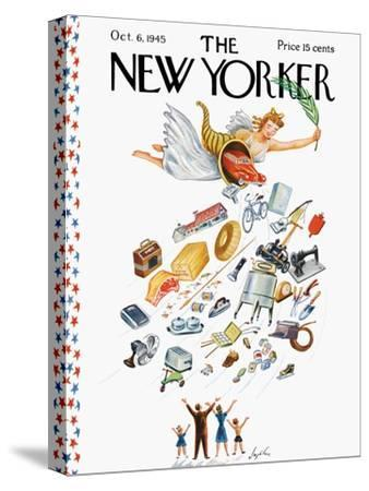 The New Yorker Cover - October 6, 1945