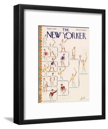The New Yorker Cover - September 11, 1937