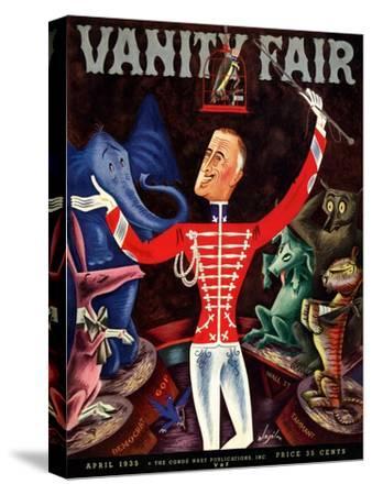 Vanity Fair Cover - April 1935