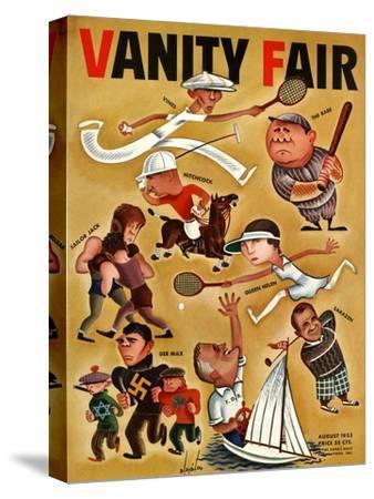 Vanity Fair Cover - August 1933