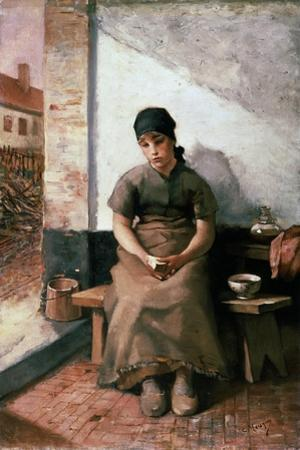 A Maidservant's Breakfast, 1880S