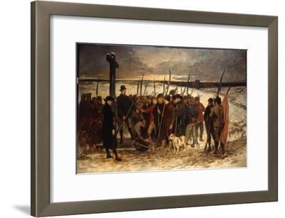 La Guerre Des Paysans (Le Rassemblement), C.1875
