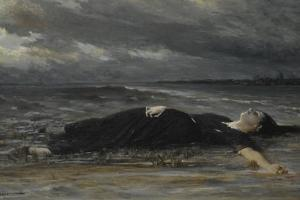 Ophelia by Constantin Emile Meunier