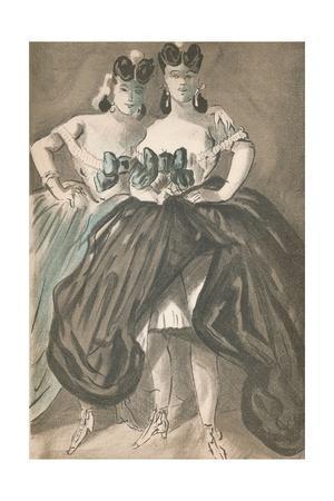'Portrait by Constantin Guys', c1860, (1939)