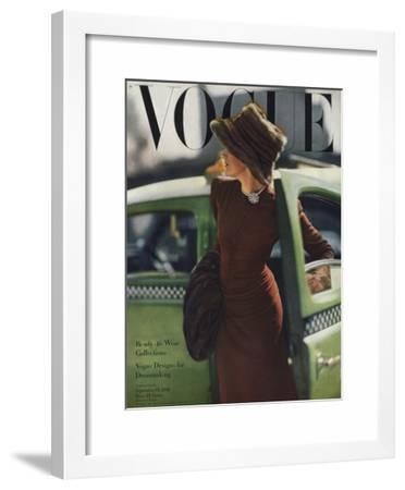 Vogue Cover - September 1945