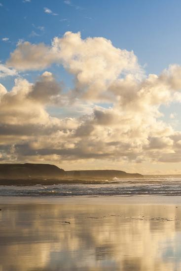 Constantine Bay at Sunset, Cornwall, England, United Kingdom, Europe-Matthew-Photographic Print