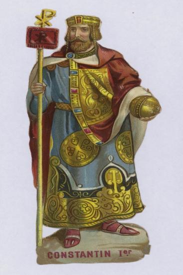 Constantine I--Giclee Print