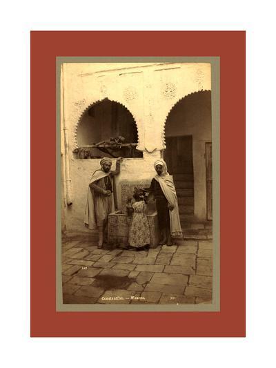 Constantine, Moors, Algiers-Etienne & Louis Antonin Neurdein-Giclee Print