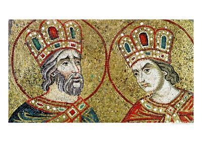 Constantine the Great and St. Helena--Giclee Print