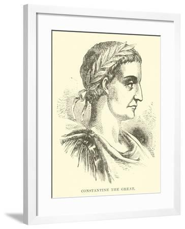 Constantine the Great--Framed Giclee Print