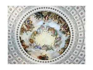Apotheosis of Washington by Constantino Brumidi
