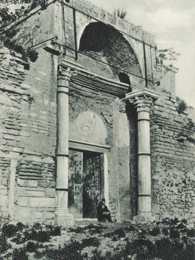 Constantinople - Golden Gate, Yedikule--Photographic Print