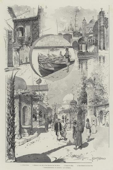 Constantinople in London, at Olympia-Joseph Holland Tringham-Giclee Print